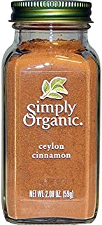 Simply Organic セイロンシナモン スパイス Ceylon cinnamon [並行輸入品]