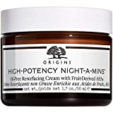 ORIGINS High Potency Night-A-Mins Resurfacing Oil-Free Cream with Fruit-Derived AHA's 30ml