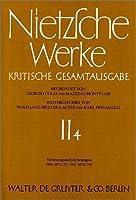 Nietzsche Werke: Kristische Gesamtaugabe 2, 4: Vorlesungsaufzeichnungen (WS 1871/72 - WS 1874/75) (ドイツ語) ハードカバー – 1994/12