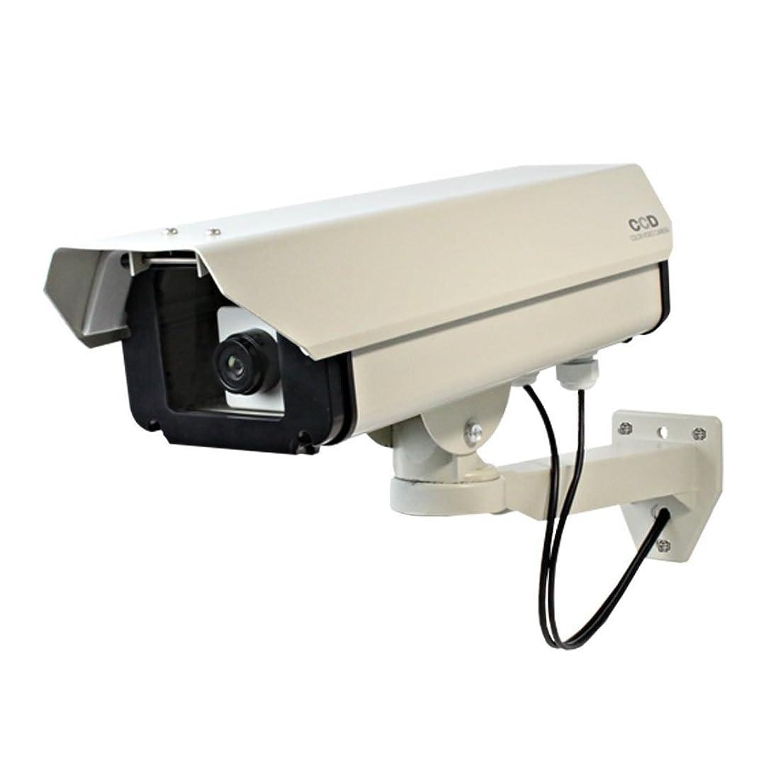 ねじれ事業内容シャイ屋外ハウジング型ダミーカメラ(ロングサイズ)防犯ダミーカメラ(OS-160)【ダミーカメラ、防犯カメラ、監視カメラ】