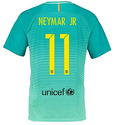 Nike - Camiseta de la 3.ª equipación del FC Barcelona, temporada 2016-2017