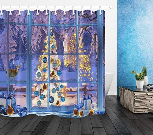 cortinas ventana baño ducha