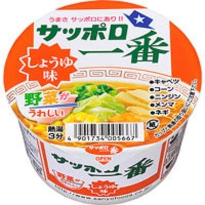 10位:サンヨー食品『サッポロ一番 しょうゆ味 ミニどんぶり』