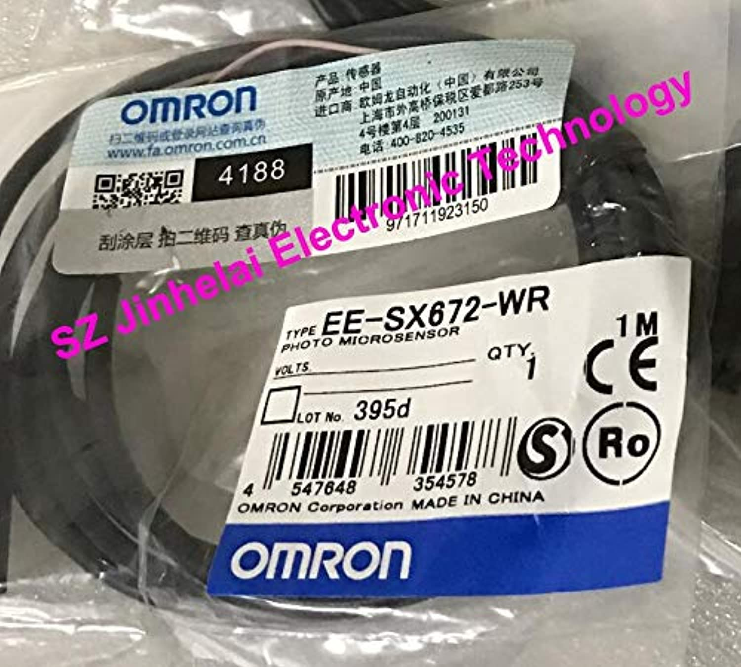 EESX672WR, EESX672PWR New and Original OMRON Photo Micro Sensor 1M  (color  EESX672PWR)