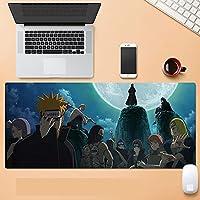 ナルト大型マウスパッド壁紙アニメ人気のベースコンピュータ周辺機器コミックゲーム滑り止めファッション800 * 300 * 3mm-A_800*300mm