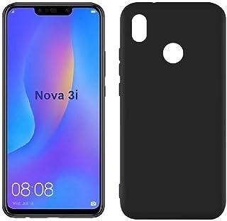 Mobile protection Cover, Flexible Plastic, Matte color Case for Huawei Nova 3i (Black)