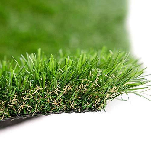 Premium Kunstrasen   Rasenteppich   Rollrasen   Kunststoffrasen   Garten-Rasen   Rasen für Balkon, Terrasse & Garten   viele Modelle   verschiedene Größen & Stärken (Windsor (Höhe: 22mm), 133x300 cm)
