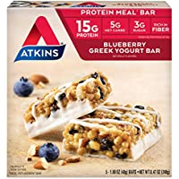 5-Count Atkins Blueberry Greek Yogurt Protein Meal Bar