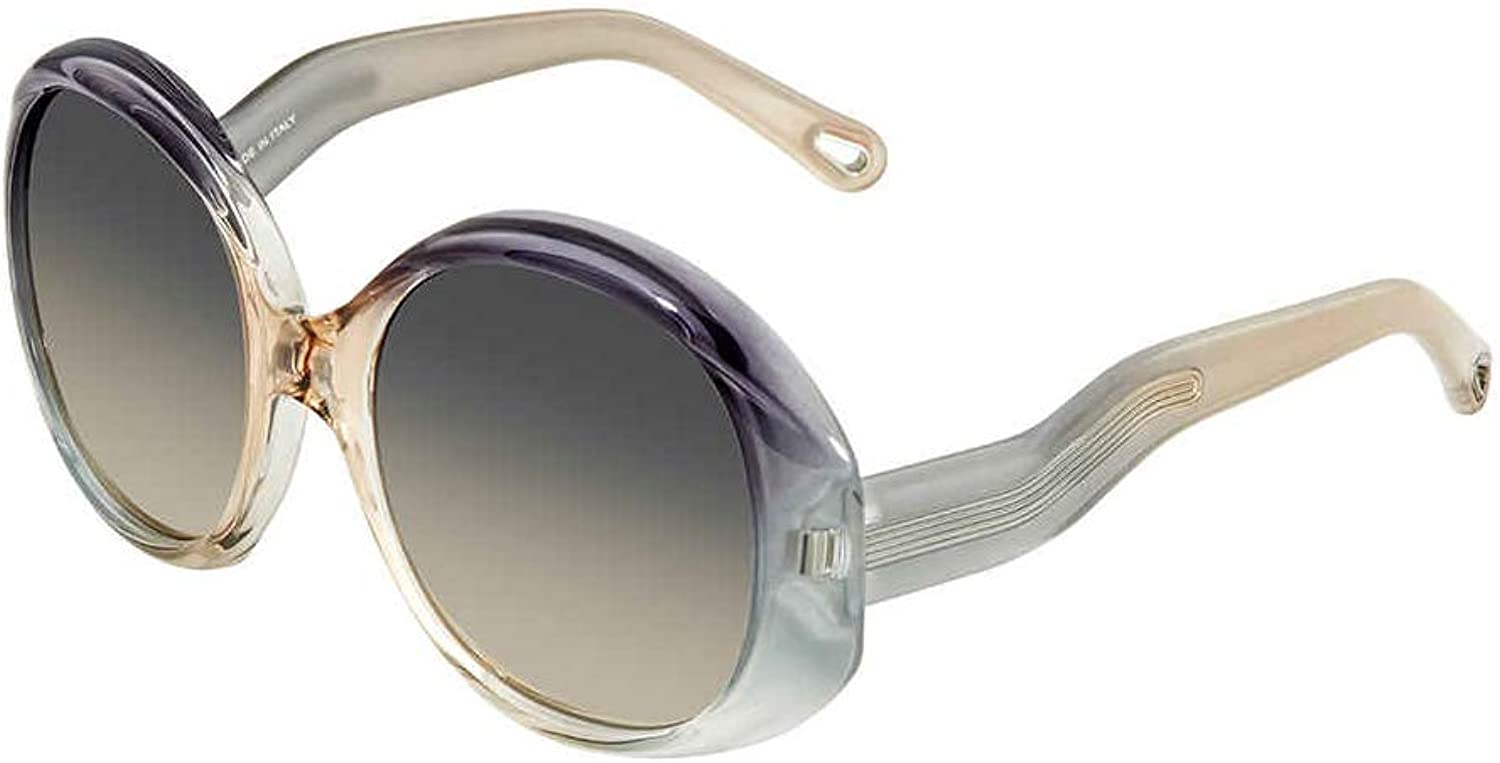 Chloe QLEO CE 732 037 A Grey Shaded Plastic Sunglasses 57mm