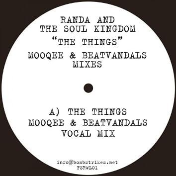The Things (Mooqee & Beatvandals mixes)