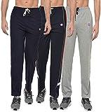 VIMAL JONNEY Men's Regular Fit Trackpants (Pack of 3) (D1ND1MD7N-L_Multicolored_Large)
