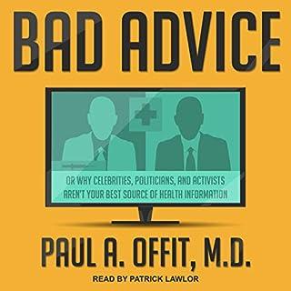 Bad Advice audiobook cover art