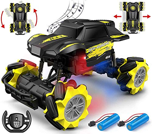 DoDoeleph 1/16 Ferngesteuertes Auto, RC Auto Offroad, RC Car, Auto ferngesteuert, Auto Spielzeug für Kinder Jungen Mädchen ab 4 5 6 Jahren Draußen