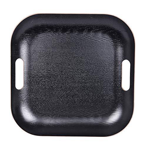 Table Passion - Plateau carré 39cm noir