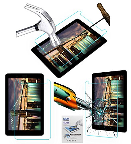 ACM Tempered Glass Screenguard Compatible with Micromax Canvas Tab P70221 Tablet Screen Guard Scratch Protector