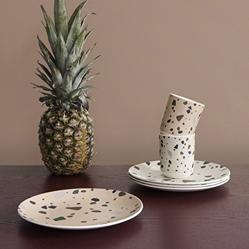 Assiette – Terrazzo – Bamboo – Grey