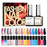 Modelones Gel Nail Polish Set - 16 Color Gel Nail Polish 6ml Mini - Best Reviews Guide
