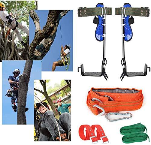 YONIISEA Baumklettern Steigeisen, Bäume Artefakt Steigeisen Für Bäume Set Für Üben Von Baumklettern, Überleben Im Dschungel, Obstpflücken Usw Baumklettern Spike Set
