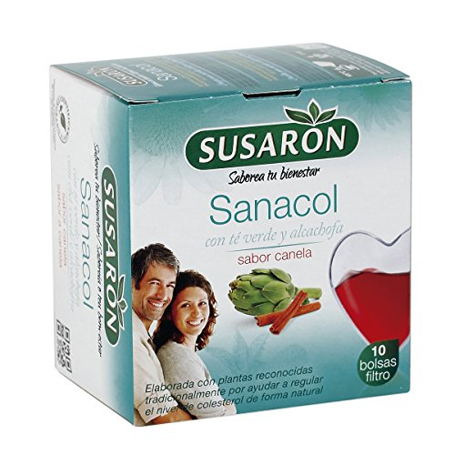 Sanacol Sabor Canela 10 Bolsas Filtro