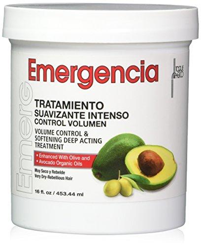 Emergencia Avocado und Olivenöl Haarmaske 453ML – Tiefenwirksame Behandlung für Volumenkontrolle...