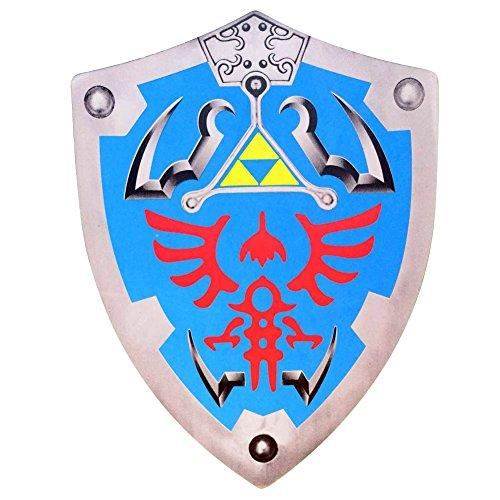 Image of Legend of Zelda Link Hylian Hyrule Triforce Foam Shield LARP