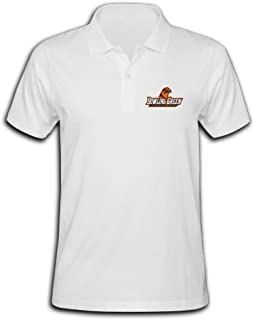 Bowling Green Falcons Logo Pique Polo T-shirt For Men
