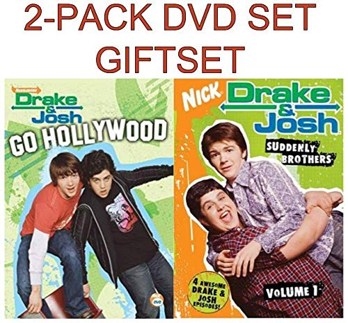 Drake & Josh DVD 2-Pack Movie Set - Drake & Josh Go Hollywood/ Drake & Josh, Vol. 1: Suddenly Brothers