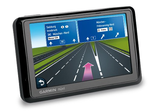 Garmin nüvi 1390T Navigationssystem (Europa, TMC, 10,9 cm (4,3 Zoll) Display, Fußgängernavigation, Bluetooth)