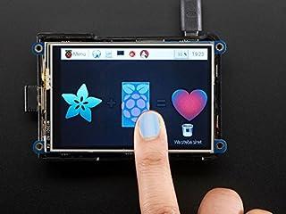 """PiTFT Plus 3.5"""" 480x320 抵抗膜方式 タッチスクリーン - Raspberry Pi A+/B+/2B - 組み立て済み"""
