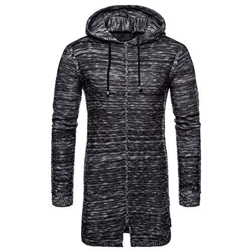 QJSZ Herren Kordelzug Sweatshirt Pullover Pulli Hoodie Sweater Langarm Weiches Warm Lange Kapuzenpullover Winter Sportjacke Outdoor Design Chic top XXL