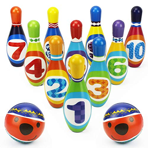 iPlay, iLearn Kids Bowling Toys Set