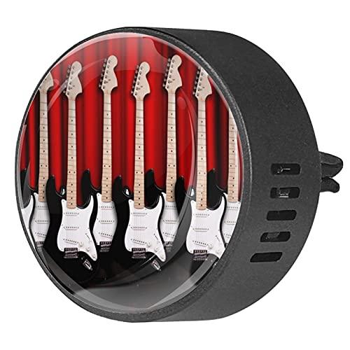Clip de ventilación para difusor de aromaterapia para automóvil Guitarra eléctrica cubierta...