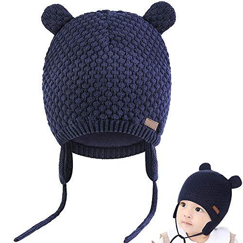 Cosey Mütze für Babys, Mädchen und Jungen, Baby Earflap Beanie Mütze, weich,...