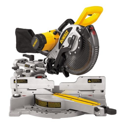 DeWalt 240V 10-inch 254mm Heavy-Duty Double-Bevel Sliding Compound Mitre Saw