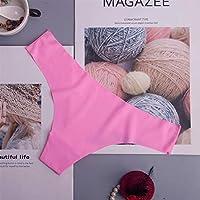 セクシーな女性のひもG弦シームレスなパンティー女性の下着タンガパンティー低層ランジェリーパンティインタイト1ピース (Color : Ac125fen, Size : M)