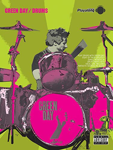 Green Day Authentic Playalong Drums + CD: Eight of Their Greatest Songs