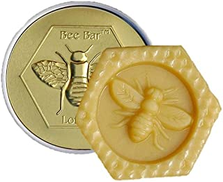 Vanilla Bee Bar Skin Care Moisturizing Solid Lotion Bar, Made in USA, .6 Oz