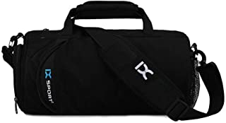 Gym Duffle Bag with Shoe Compartment AOLVO Waterproof Sport Gear Luggage Duffle Bag Storage Carry Overnight Bag for Men Wo...