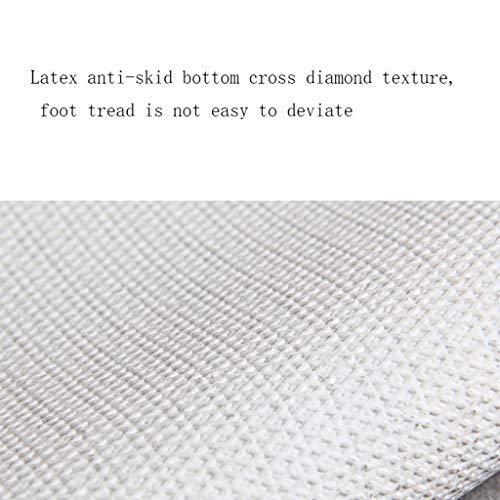 Carvapet 2 Piece Keuken Mat antisliprubber Backing Deurmat Runner Rug Set, Cozinha Design (Bule) Deurmat Buiten Extra Duurzaam (Color : D, Size : 40 * 60+45 * 180CM)
