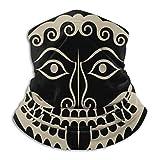 Escudo de la antigua Grecia con gorgona Medusa Head Scarf Ne