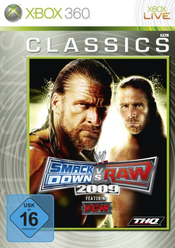 WWE Smackdown vs. Raw 2009 [Xbox Classics] [Importación alemana]