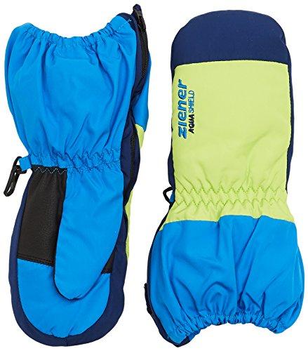 Ziener Baby LEVI AS MINIS glove Ski-handschuhe / Wintersport | wasserdicht, atmungsaktiv, blau (persian blue), 116