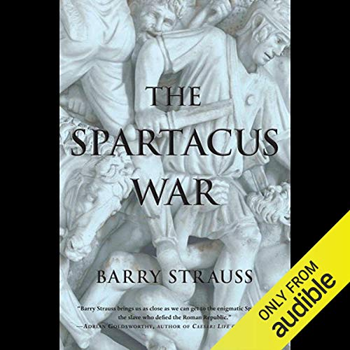 The Spartacus War audiobook cover art