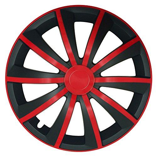CM Design Gral - Bicicleta universal (16'), color rojo y negro