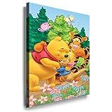 Winnie the Pooh Kinderzimmer Kunstdruck Bild 100x70cm k.