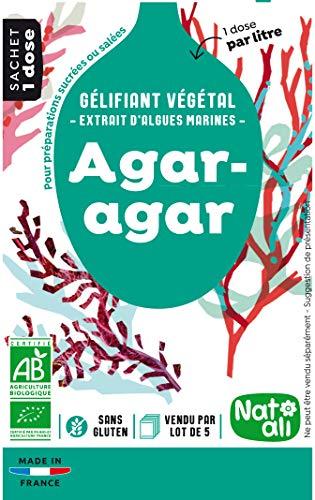 Nat-Ali Agar Agar Bio Sachets 5 x 4 g