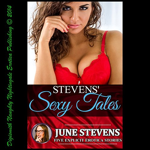 Stevens' Sexy Tales audiobook cover art