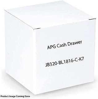 APG Cash Drawer Heavy Duty: Series 4000: 1816 Model (Part#: JB320-BL1816-C-K7 ) - NEW
