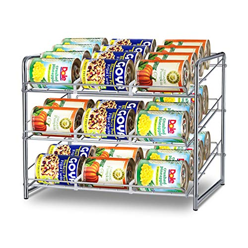 Simple Trending Can Rack Organizer, Stackable Can...