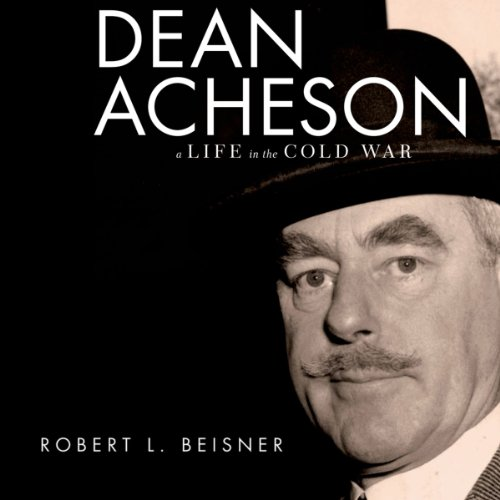 Dean Acheson audiobook cover art